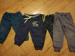 Spodnie dresowe bawełniane 86 i 92 Cool Club