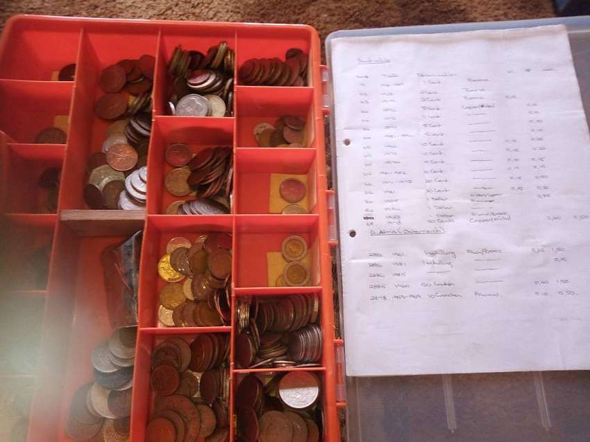Coin collection dates from pre 1800 to 1990's 0