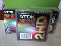"""Дискеты 3,5"""" TDK MF2HD пр-ва Австрия, Verbatium."""