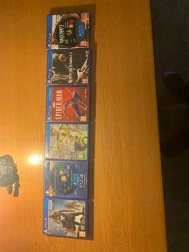 PS4 GAMES FOR SALE AT A BARGAIN!