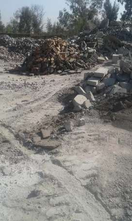 Rubble collection and dumping