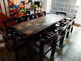 dinning/boardroom/lapa table and chairs set