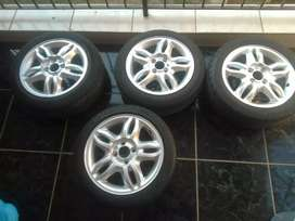 15inch mags and tyres for sale