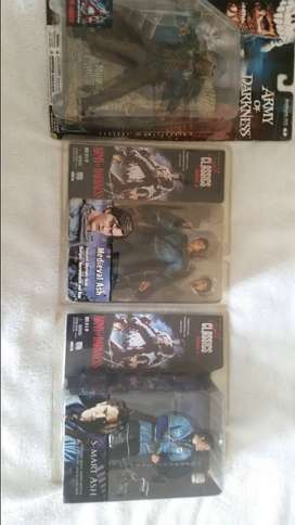 3 Army of darkness evil dead 3 figure collection