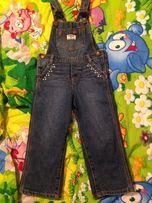 Комбинезон джинсовый Oshkosh 3 t в идеальном состоянии. Carters