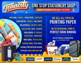 Save money and time on stationery. We deliver to you