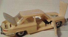 """Масштабная автомодель """"Panhard 24BT"""" №5 (СССР.1970-е)"""