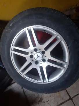 AMG mag rims tyres too big don't consider