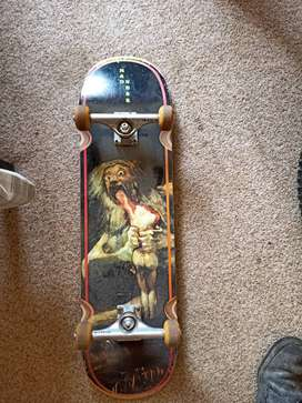 Pro skateboard (courier available)