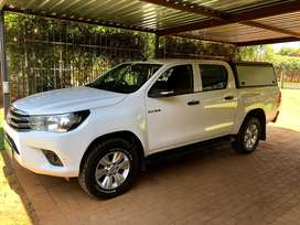 2017 Toyota Hilux 2.4GD6 4x4 Double cab