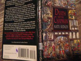 детектив английский книга kate sedley death and the chapman