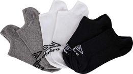 Комплект носков Umbro No Show Liner Sock 3 пары оригинал