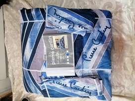 3pce Queen size Piere Carfin comforter sets