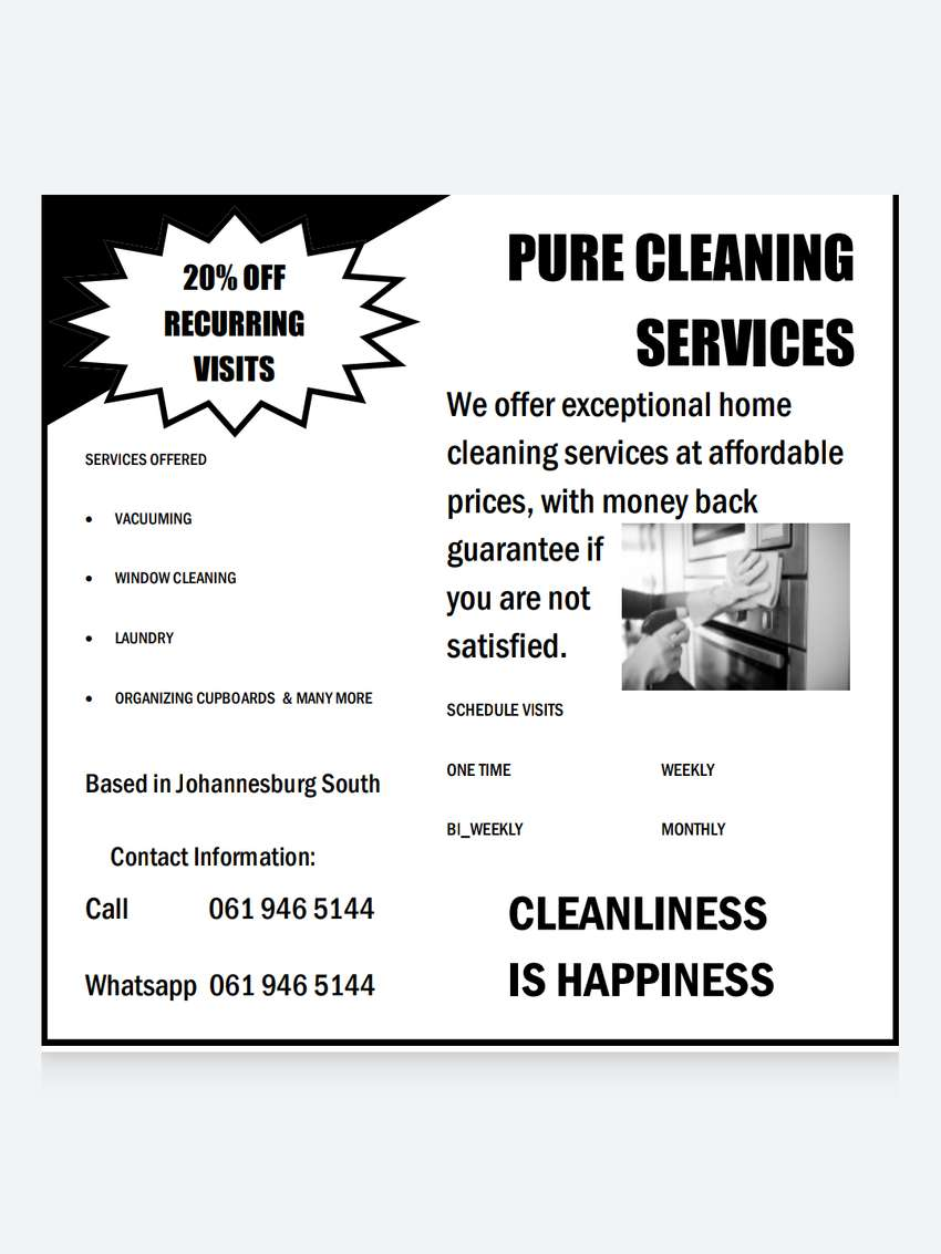 Home cleaning services 0