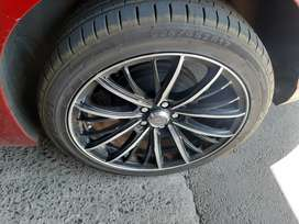 17 inch mags and tyres