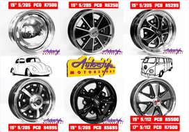 suitable mags alloy rims wheels for  speedster, Porsche,  splitwindow,
