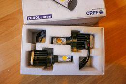 H1 Светодиодные авто лампы ближний-дальний LED - на чипах CREE, яркие