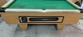 Pooltable coin operated reconditioned
