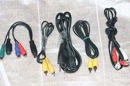 Шнур тюльпан разъём USB переходник S-Video