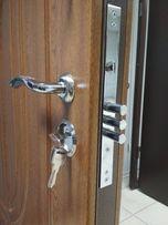 Дверь входная, бронированная, металлическая, железная. Дверь в дом