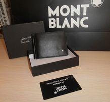 KLIP DO PIENIĄDZE PORTFEL MĘSKI Mont Blanc, skóra, Niemcy 14-6385