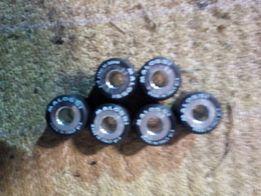 Ролики вариатора 20х17 мм различного веса- от 9-15,5 грм