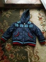 Продам курточку на флисе теплую от 2 до 4 лет