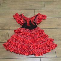 Śliczny strój na balik hiszpańska tancerka 104