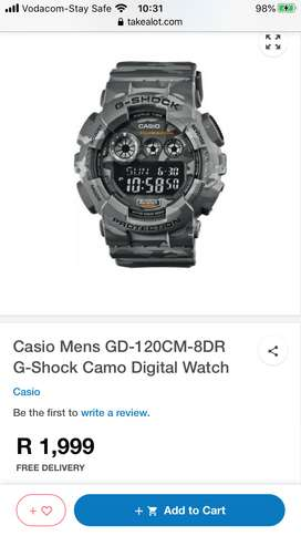 G-shock Camo Mens Digital watch