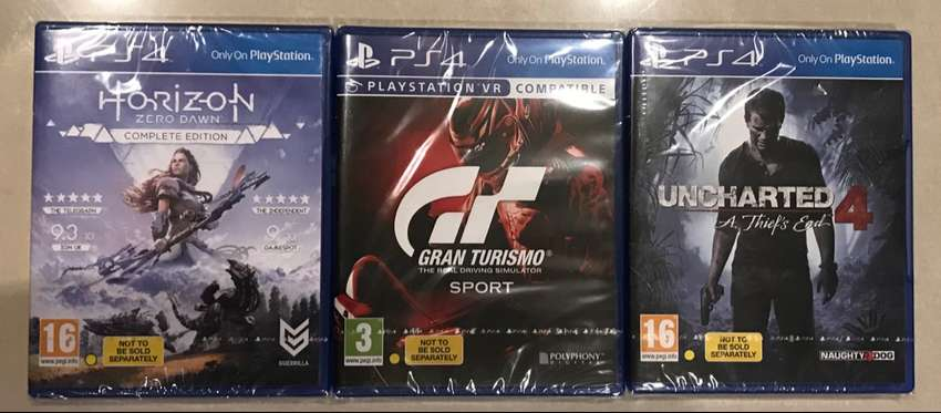 Brand New PS4 Games 0