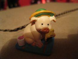 свинья в шляпе фигурка в коллекцию поросенок сувенир статуэтка хрюша