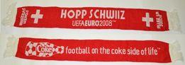 Шарф сборной Швейцарии на Евро 2008 Coca-Cola