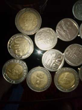 I'm selling Mandela R5 and R 2 coin's and other old coins