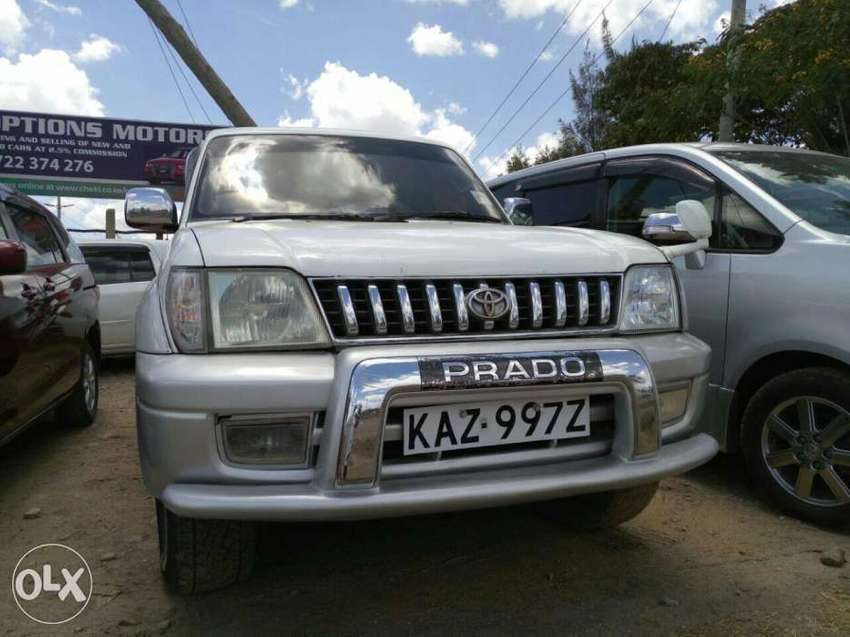 Very Well Maintained Toyota Prado 95 series for Sale 0
