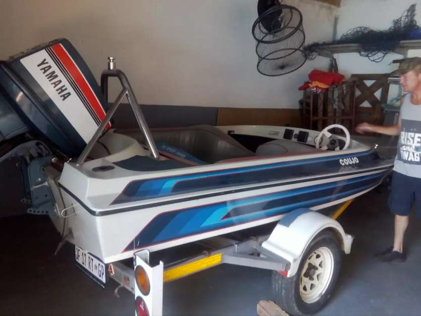 Speed boat and trailer for sale 0
