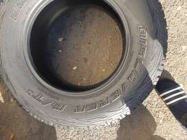 265/66/ R17 Coopers discovery A/T3 Tyres