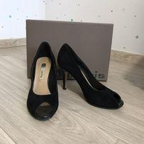 Женские туфли/босоножки черные 37 размер