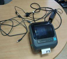 Zebra GK420d - термопринтер для Новой почты