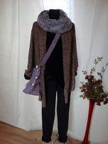 sweter - duży firmy SOON- luzak asymetryczny