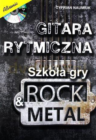 Gitara Rytmiczna - Szkoła Gry Rock & Metal Książka + CD Lublin - image 1
