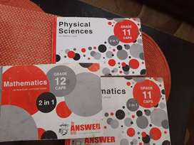 Answer series for grade 11 and 12