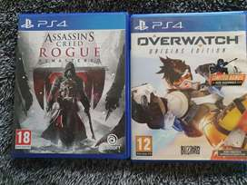 PS4 games R150 each, R250 for both