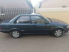 I'm selling a toyoya corolla. The car is still in good condition