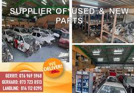 COME VISIT US - WE SELL A WIDE VARIETY OF NEW AND USED SPARES!!!