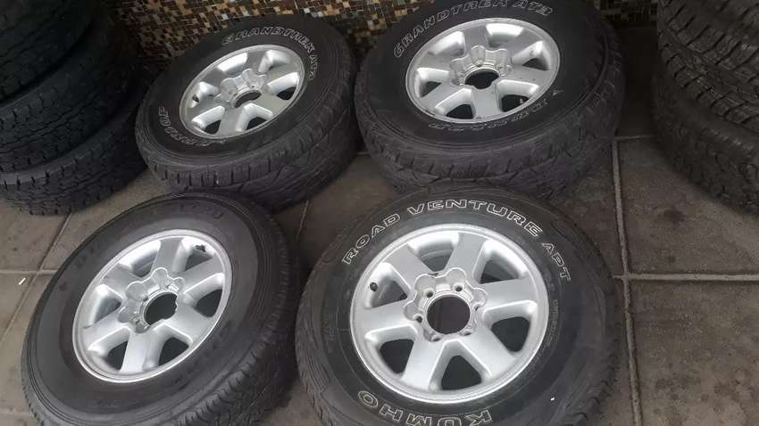 """16"""" Nissan Hardbody mags only"""