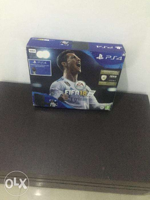 Brand new Slim PS4,With fifa 18 and 2 Controllers pad 0