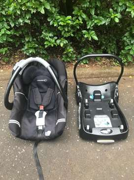 Bebe Confort Car Seat and Base