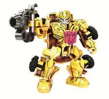 Transformers 4 Construct Bots Bumblebee A6169 Hasbro !