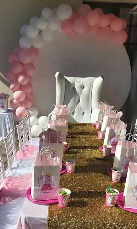 Party decor and event planning
