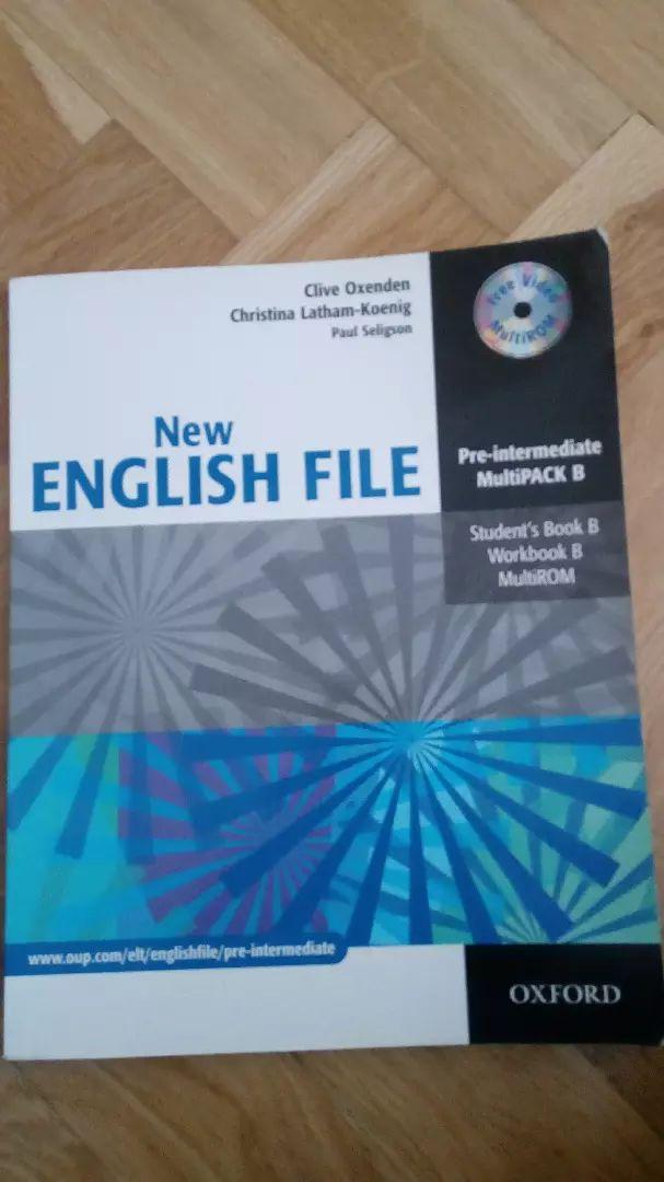 Učebnice angličtiny New English File Oxford 0